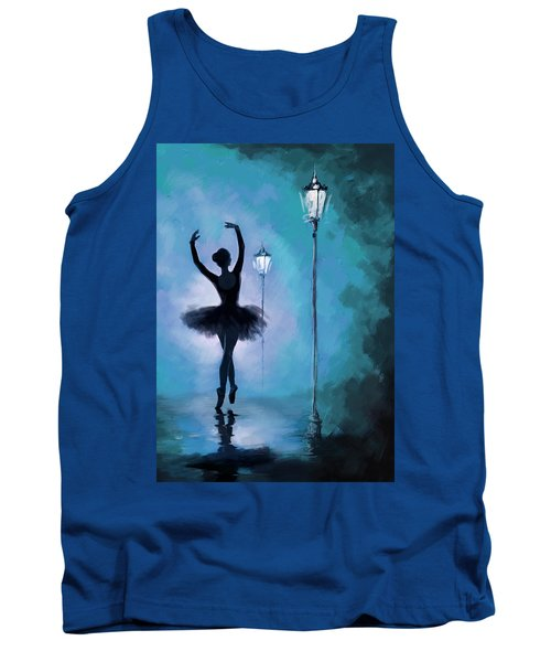 Ballet In The Night  Tank Top by Corporate Art Task Force