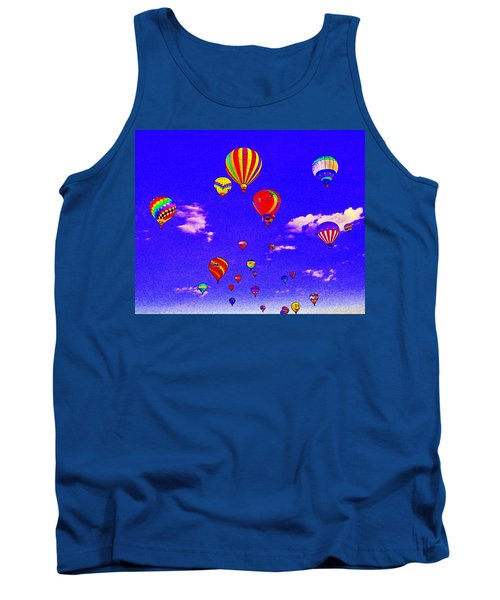Ballon Race Tank Top