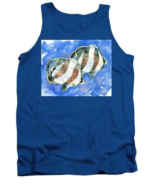 Banded Butterflyfish Tank Top