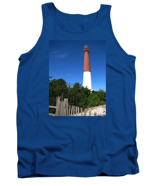 Barnegat Lighthouse Tank Top by Colleen Kammerer