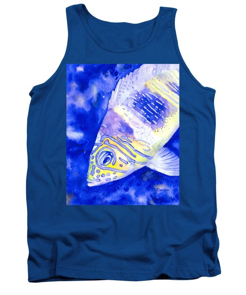 Barred Hamlet Portrait Tank Top