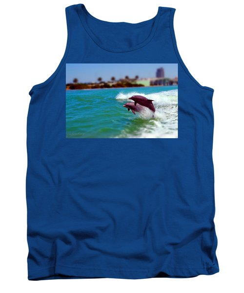 Bay Dolphins Tank Top
