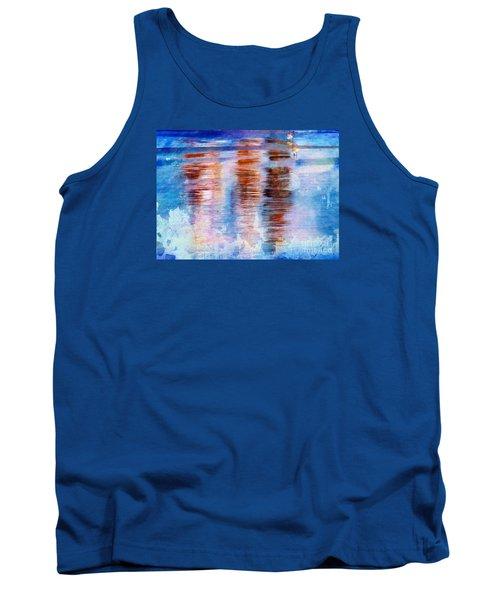 Beach Colors Tank Top by Marcia Lee Jones