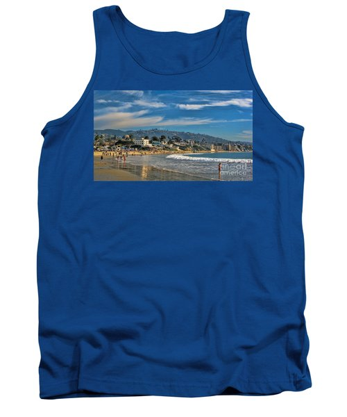 Tank Top featuring the photograph Beach Fun by Tammy Espino