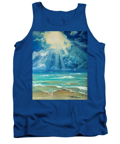 Beach Tank Top by Robin Maria Pedrero