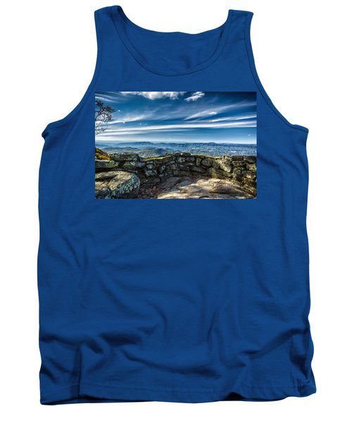 Beautiful View Of Mountains And Sky Tank Top