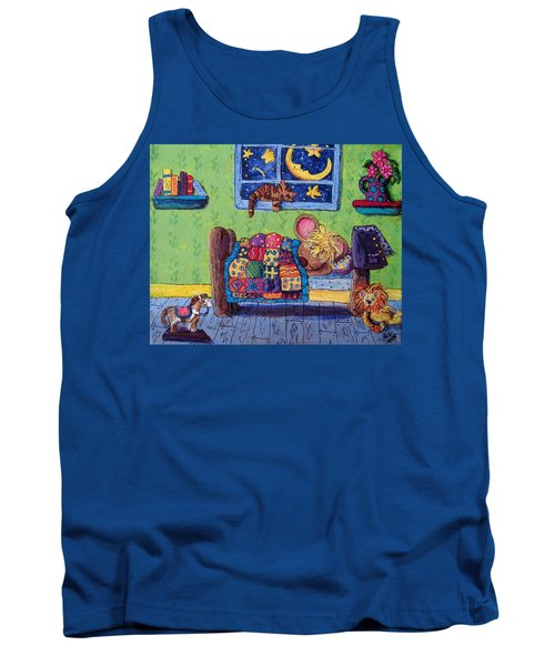 Bedtime Mouse Tank Top