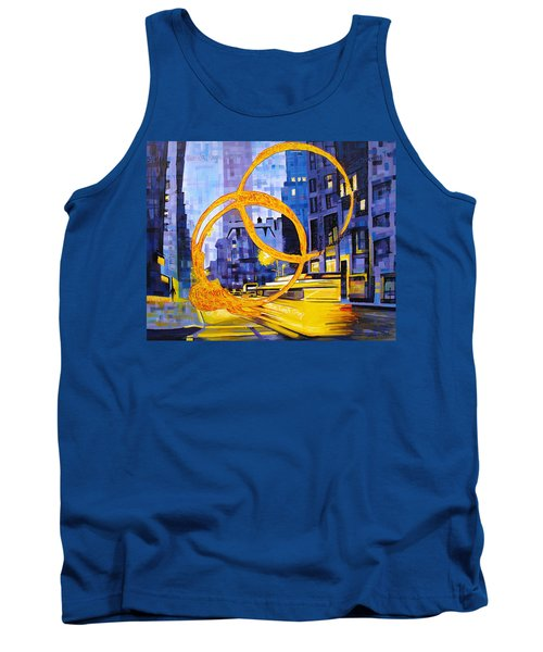 Before These Crowded Streets Tank Top by Joshua Morton