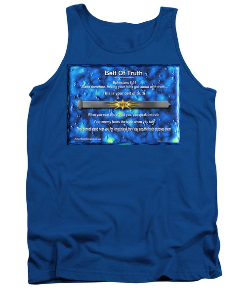 Belt Of Truth Tank Top