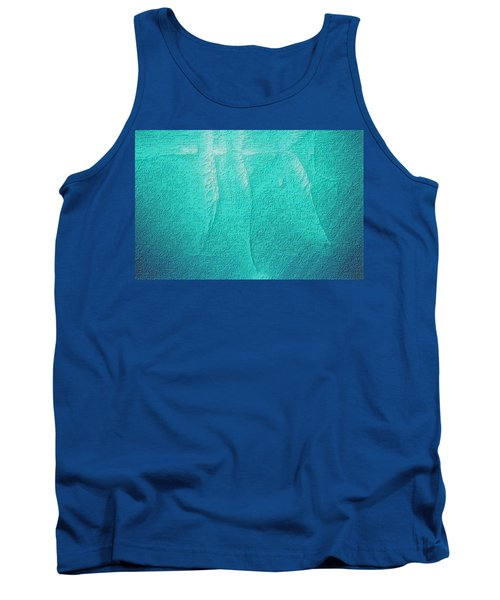 Beluga Abstract Tank Top