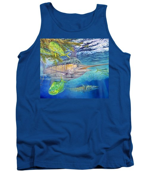 Big Blue Hunting In The Weeds Tank Top