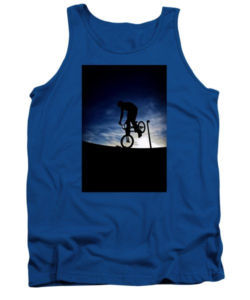 Bike Silhouette Tank Top