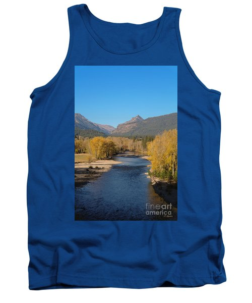 Bitterroot River Fall Tank Top