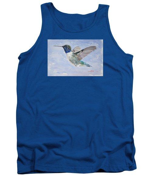 Da194 Black Chinned Hummingbird By Daniel Adams Tank Top