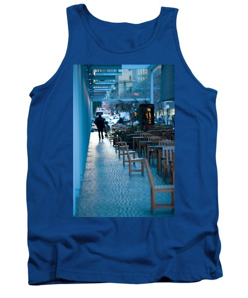 Blue Afternoon San Francisco Tank Top