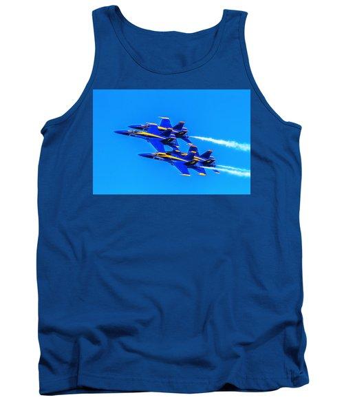 Blue Angels Glow Tank Top