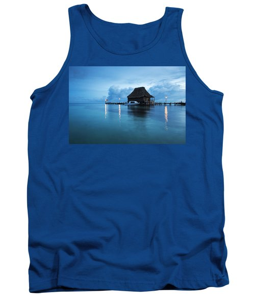 Blue Hour Landscape Tank Top