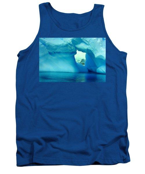 Blue Iceberg Antarctica Tank Top