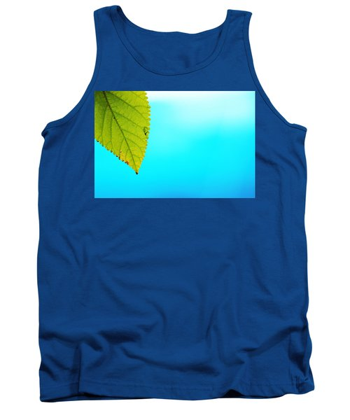 Blue Lagoon Tank Top by Prakash Ghai