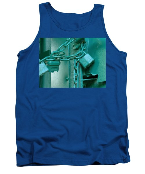 Tank Top featuring the photograph Blue Locks by Rodney Lee Williams