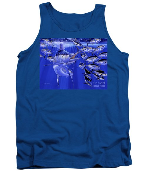 Blue Marlin Round Up Off0031 Tank Top