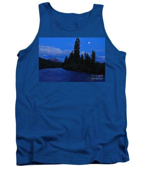Blue Missing You Tank Top