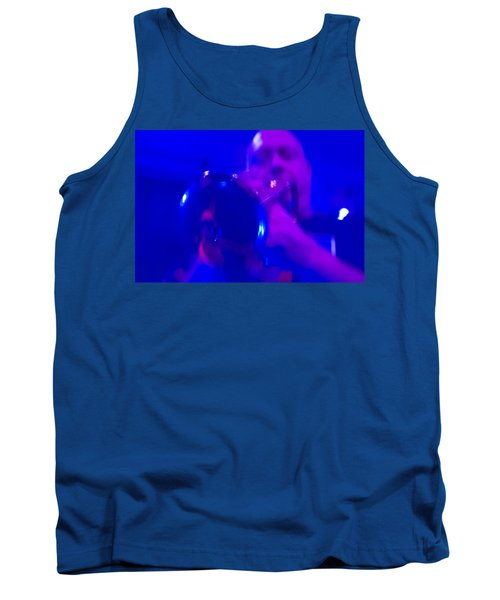 Tank Top featuring the photograph Blue Mood by Alex Lapidus