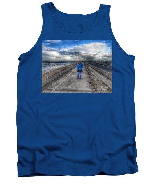 Blue Moods Tank Top
