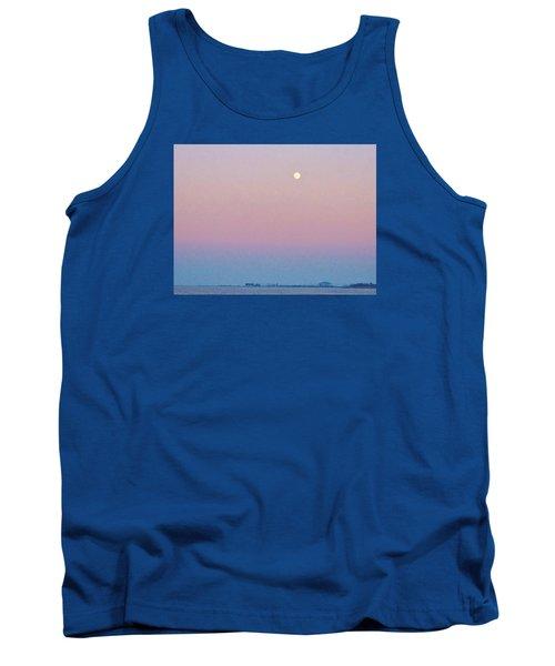 Blue Moon  Tank Top by Deborah Lacoste