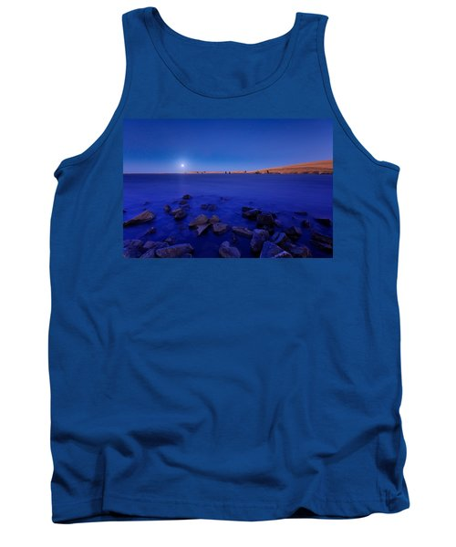 Blue Moon On The Rocks Tank Top