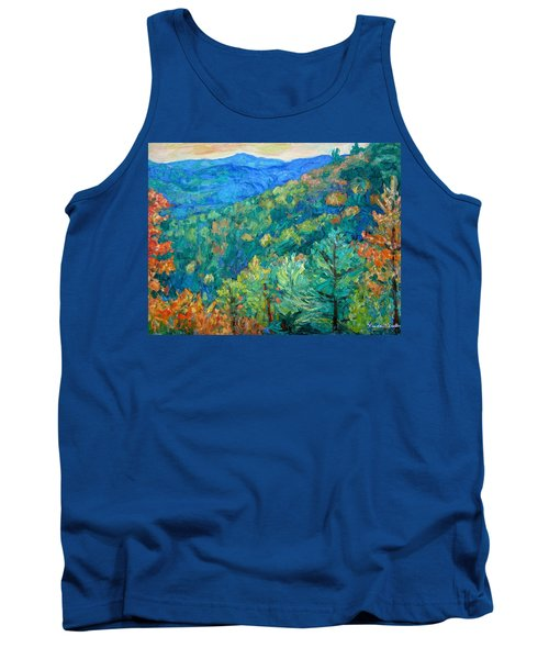 Blue Ridge Autumn Tank Top