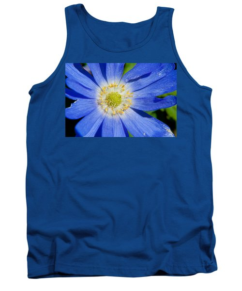 Blue Swan River Daisy Tank Top