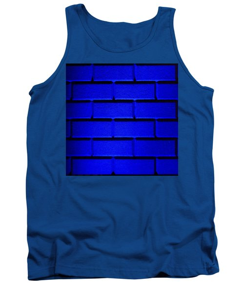 Blue Wall Tank Top