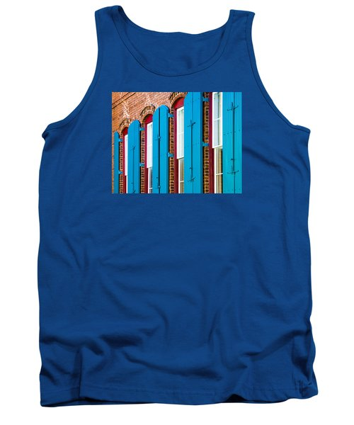 Blue Windows Tank Top