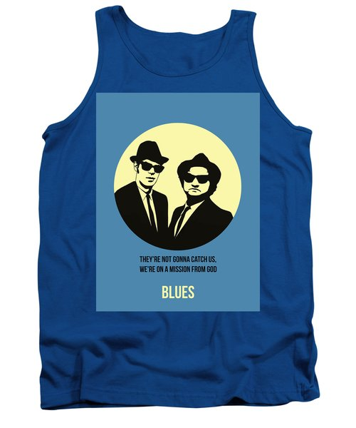 Blues Brothers Poster 3 Tank Top