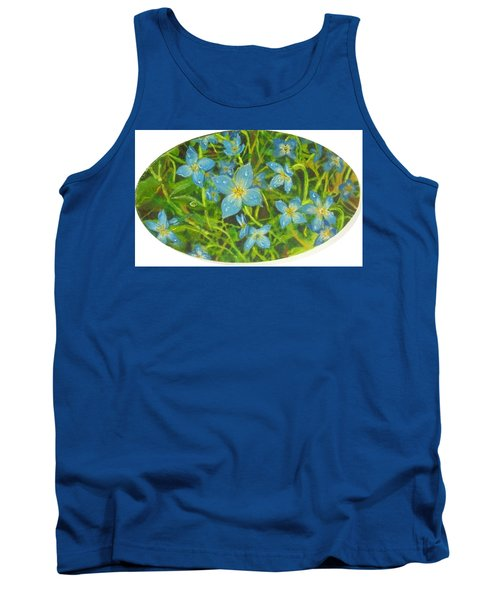 Bluets Of The Shenandoah  Tank Top