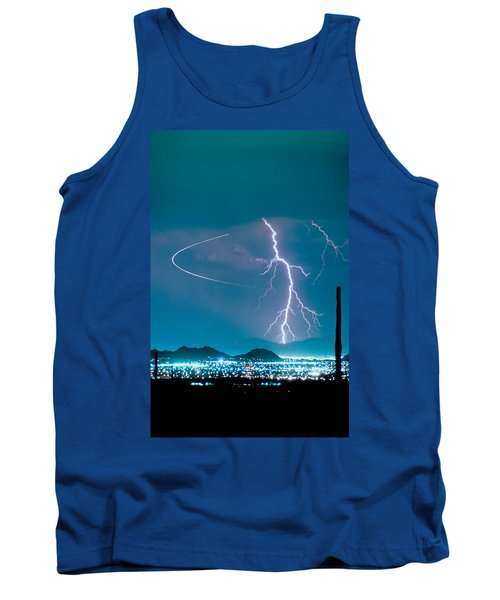 Bo Trek The Lightning Man Tank Top