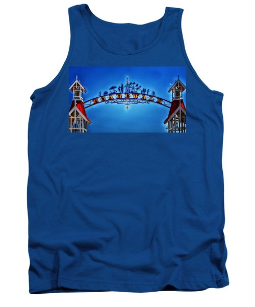 Boardwalk Arch In Ocean City Tank Top