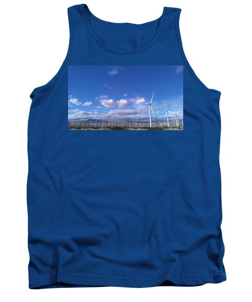 Tank Top featuring the photograph Breeze by Chris Tarpening