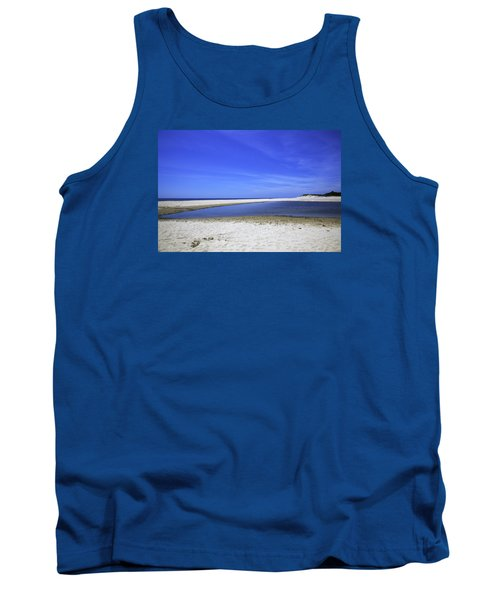 Bridgehampton Sky Tank Top by Madeline Ellis
