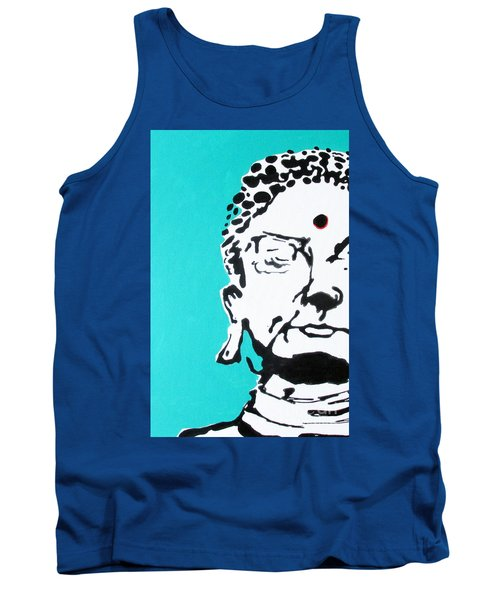 Tank Top featuring the painting Buddha by Nicole Gaitan