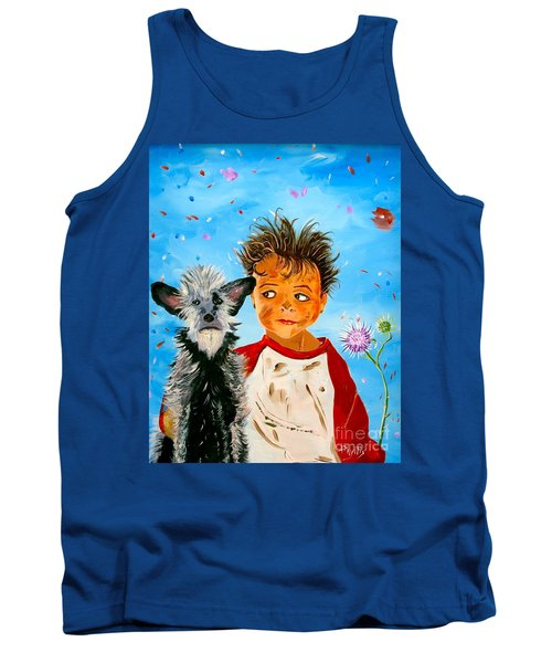 Tank Top featuring the painting Buddies by Phyllis Kaltenbach