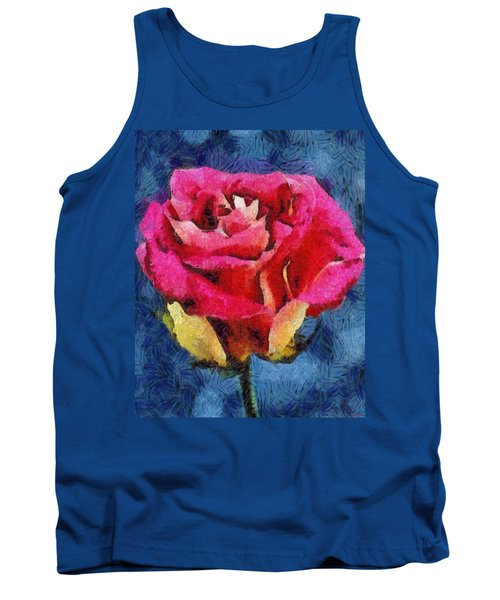 Tank Top featuring the digital art By Any Other Name by Joe Misrasi