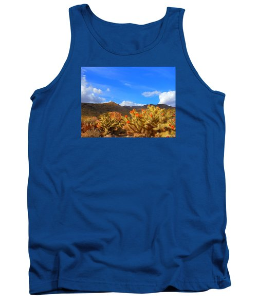 Cactus In Spring Tank Top
