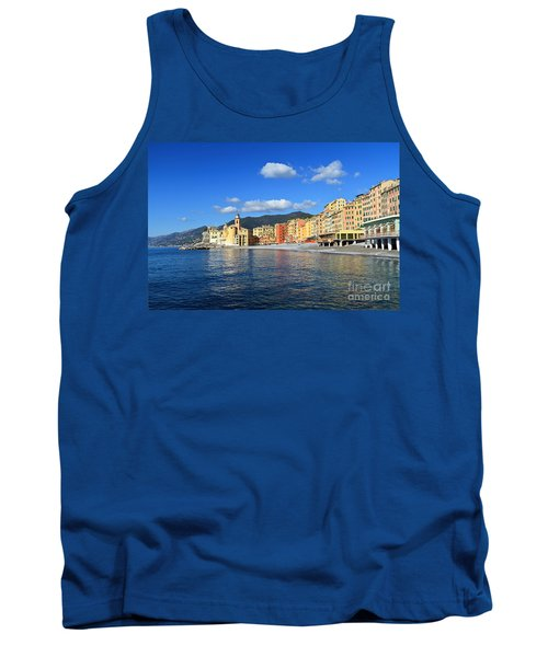 Tank Top featuring the photograph Camogli - Italy by Antonio Scarpi