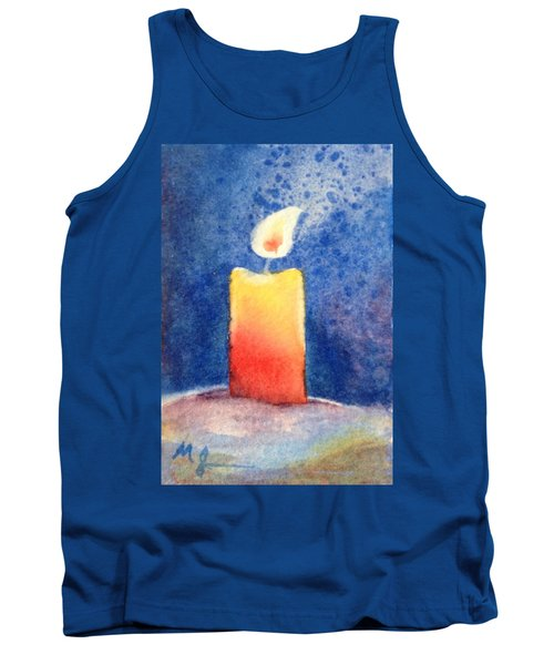 Candle Glow Tank Top by Marilyn Jacobson