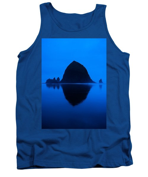 Cannon Beach Blue Tank Top