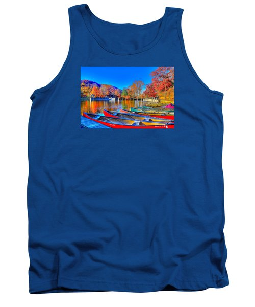 Canoe In Waiting Tank Top