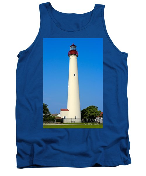 Cape May Lighthouse Tank Top by Anthony Sacco