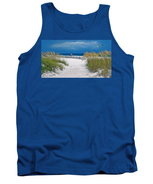 Carefree Days By The Sea Tank Top